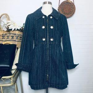 Demin Jean Women Jacket Blazer